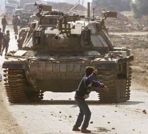 The memory of the first Intifada 1987