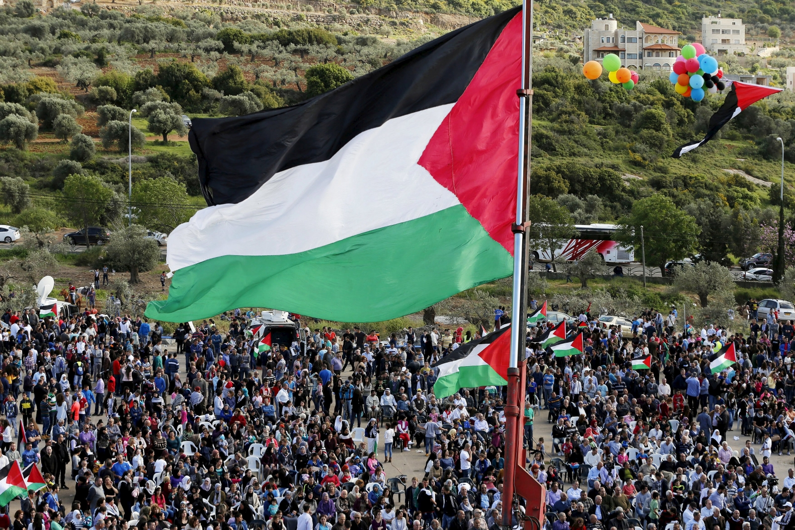 Palestinians to mark the 45th anniversary of Land Day with rallies in Arab towns in Israel
